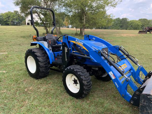 Photo New Holland 50 4x4 Loader SEVERAL AVAILABLE Deere Kubota Massey Case