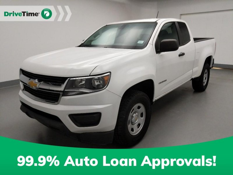 Photo Used 2015 Chevrolet Colorado 2WD Extended Cab WT for sale