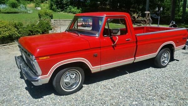 Photo 1974 Ford F100 - $18500 (preston connecticut)