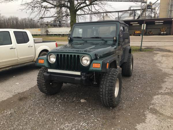 Photo 2000 Jeep Wrangler. (TRADE) - $6800 (Dyersburg)