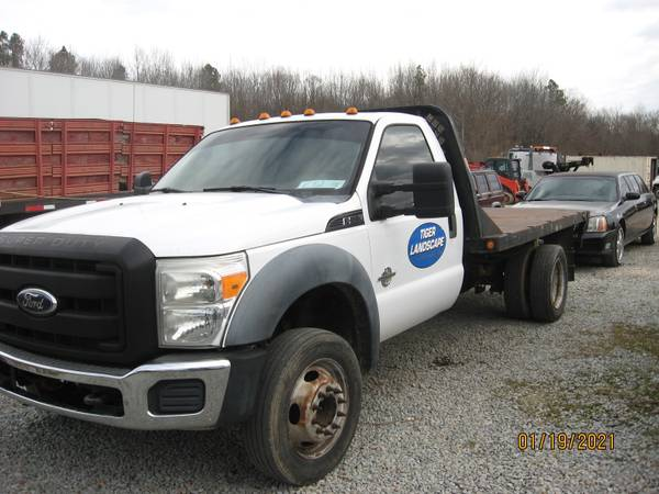 Photo 2011 Ford F550 Flatbed 6.7Diesel - $14,500 (Henderson)