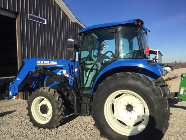 Photo 2015 New Holland T4.75 power star tractor - $23000 (jackson, TN)