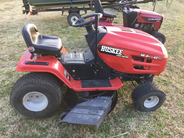Photo 42quot Huskee Riding Mower - $500