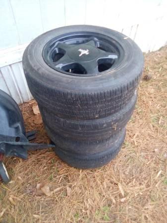 Photo 4 lug pony wheels - $100 (Savannah)