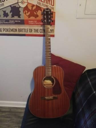 Photo Fender CD-140S Acoustic Guitar - $200 (DRESDEN)