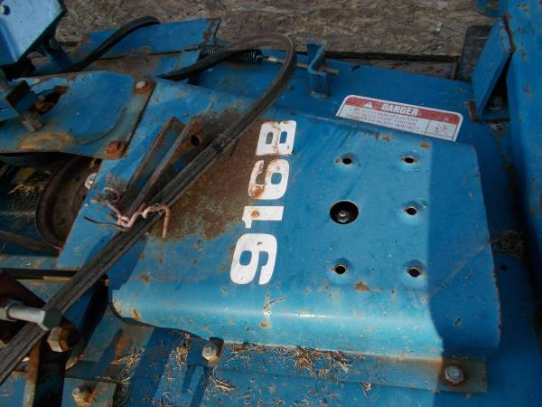 Photo Ford Belly mower and hardware - $225 (michie)