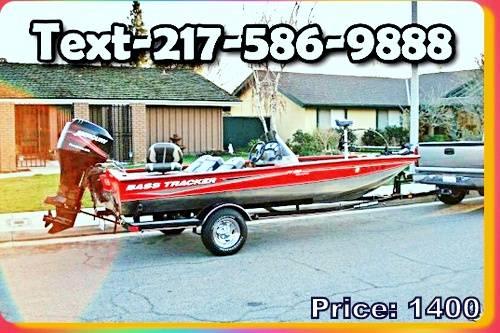 Photo Like new BASS TRACKER - $1,400 (jackson, TN)