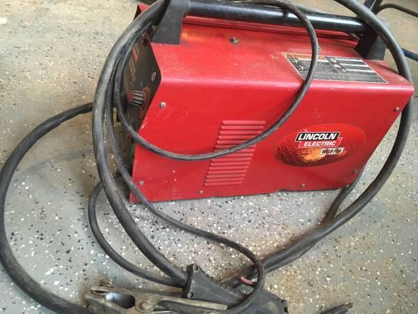 Photo Lincoln wire welder - $250