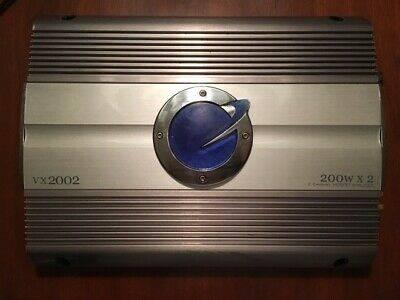 Photo Planet Audio VX2002 200Wx2 - 2 Channel MOSFET Amplifier - $125 (Medina)