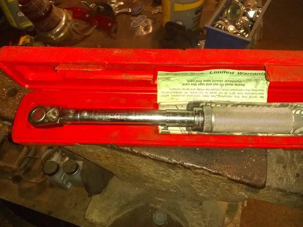 Photo Snapon torque wrench (Arcadia mo.)