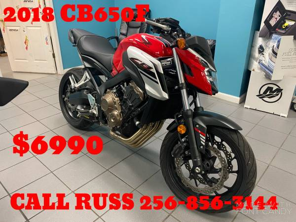 Photo USED SPORT BIKES CRUISERS TOURING DIRT BIKE FINANCING AVAILABLE (NORTH ALABAMA)