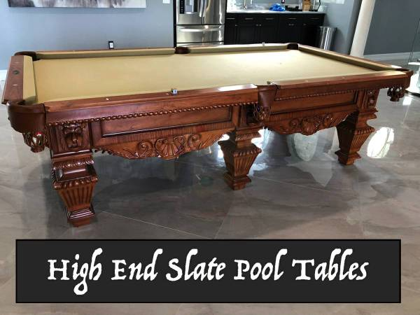 Photo 12 Preowned Slate Pool Tables for SaleInstall  New Felt Included - $2250 (Winter Springs)