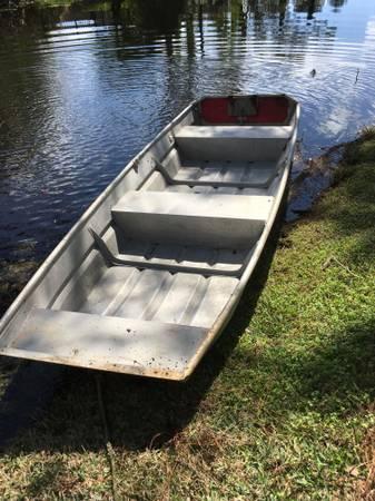 12 foot aluminum jon boat and motor - $600 (Jacksonville) | Boats