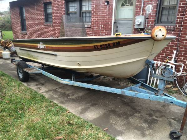 16 foot aluminum boat sylvan - $799 (Southside) | Boats For Sale