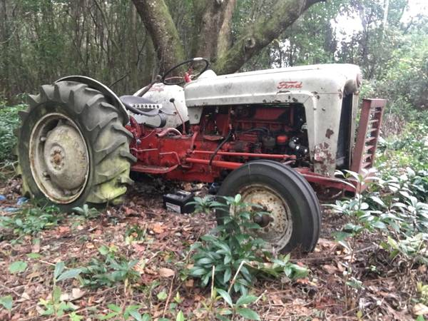 Photo 1953 Ford Golden Jubilee Tractor - Willing 2 trade - $1,800 (Jacksonville or Surrounding)