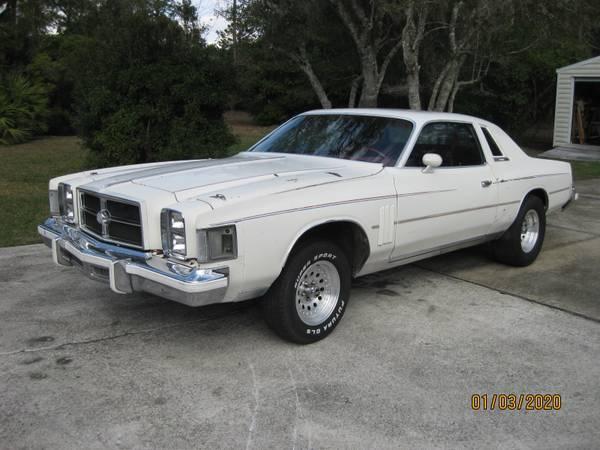 Photo 1979 CHRYSLER 300 RARE COLLECTOR CAR PLYMOUTH DODGE MOPAR HOTROD - $1600 (BRYCEVILLE)