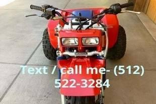 Photo 1985 HONDA ATC 350X - 3 WHEEL ATV - RED, WHITE  BLUE - ORIGINAL - MIN - $1,003 (jacksonville)