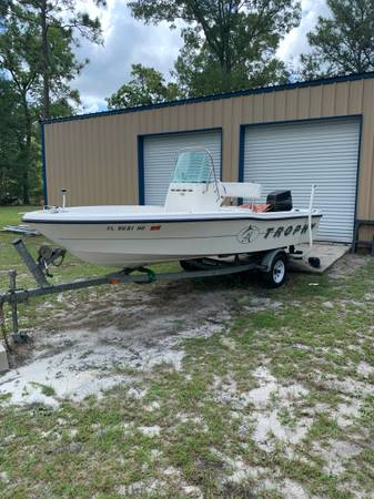 Photo 1994 Trophy center console boat - $4500 (Middleburg)