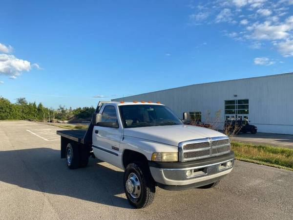 Photo 2001 DODGE RAM 3500 FLATBED - $15,990 (Sarasota, FL 941-408-4199)