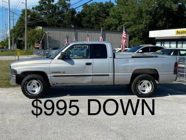 Photo 2001 Dodge Ram Pickup 1500 - $995 DOWN AND YOU RIDE -BUY HERE PAY HERE - $995 (DEALMAKER AUTO SALES - BEST PRICES IN TOWN)
