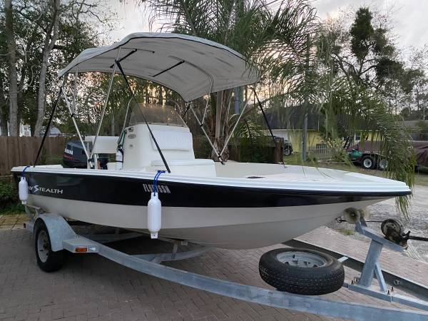 Photo 2002 Boat Bay Stealth 1800 18 5 - $6900 (Jacksonville)