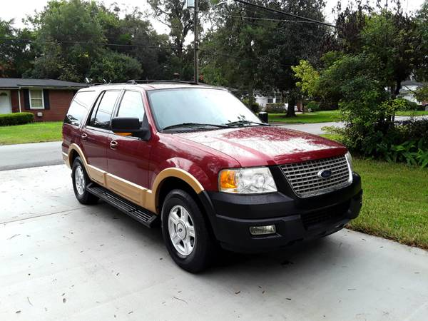 Photo 2004 FORD EXPEDITION SUV-THIRD ROW SEATING-RUNS GREAT - $4,200 (Jacksonville)