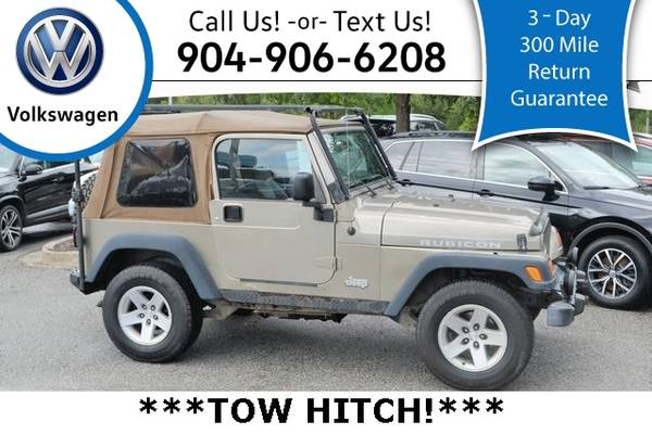 Photo 2004 Jeep Wrangler Rubicon - $7,998 (_Jeep_ _Wrangler_ _SUV_)