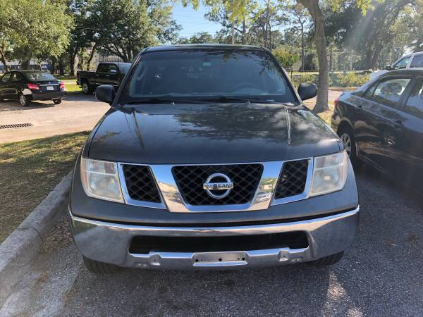 Photo 2008 Nissan frontier 2wd 5 12 clean title - $7500 (NAS Jacksonville)