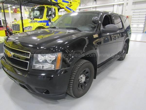 Photo 2014 Chevrolet Tahoe Police SUV (PPV) - $14900 (Jacksonville)