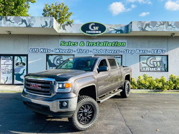 Photo 2014 GMC SIERRA 1500 SLE 4X4 NEW LIFT, NEW WHEELS, NEW TIRES - $28,950 (10244 BEACH BLVD JACKSONVILLE FL 32246)