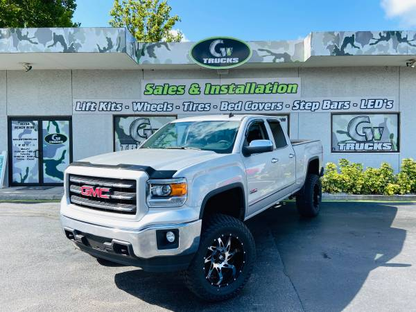 Photo 2014 GMC SIERRA 1500 SLE 4X4  NEW LIFT, NEW WHEELS, NEW TIRES  - $25,495 (10244 BEACH BLVD JACKSONVILLE FL 32246)
