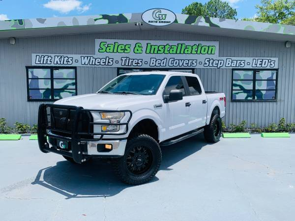 Photo 2015 Lifted Ford F-150 XL Crewcab 5.0L V8 4WD - $25950 (JACKSONVILLE)