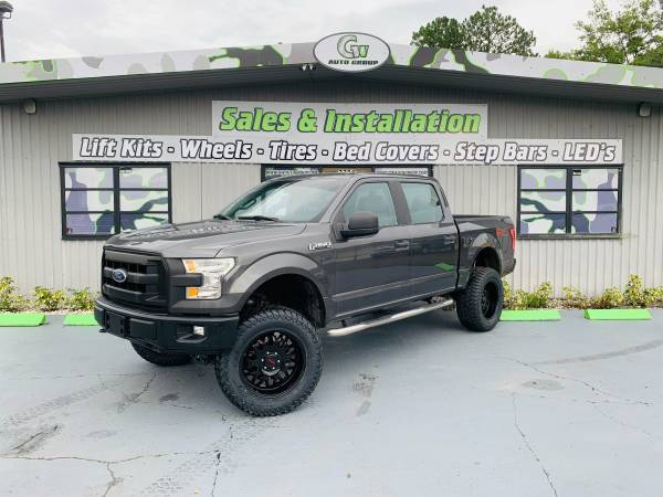 Photo 2015 Lifted Ford F-150 XL Crewcab 5.0L V8 4WD - $27450 (JACKSONVILLE)
