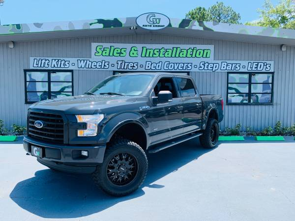 Photo 2016 Lifted Ford F-150 XLT SPORT Crewcab 4WD - $26950 (JACKSONVILLE)