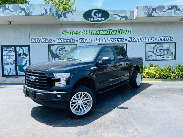 Photo 2017 FORD F150 XL 4X4  LIFTED,22quot WHEELS, 33quot TIRES  - $30495 (10244 BEACH BLVD JACKSONVILLE FL 32246)