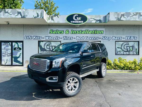 Photo 2017 GMC YUKON DENALI 4X4  NEW LIFT  NEW TIRES  - $33,950 (10244 BEACH BLVD JACKSONVILLE FL 32246)