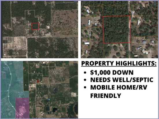 Photo 2.5 acres Land Available Near Crescent Lake - Mobile home friendly (Crescent City)