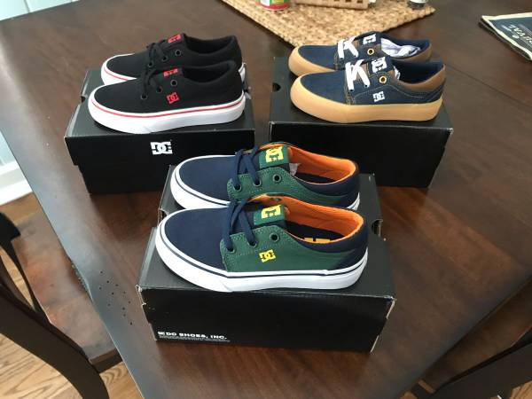 Photo 3 pairs of DC Shoes youth size 11.5 - $60 (Neptune Beach)
