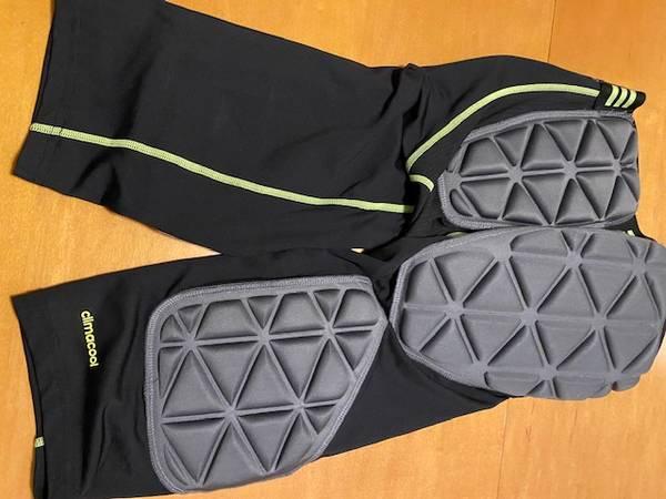 Photo Adidas TechFit Climacool Compression Padded Shirt  Shorts Football - $35