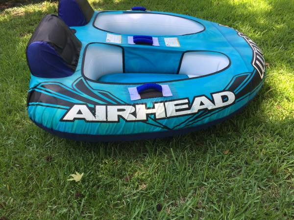 Photo Airhead Mach 2 Ride In Boat Tube - $85 (Mandarin)