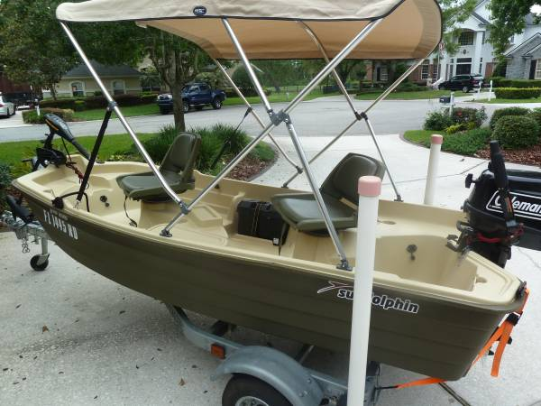 Bass Boat - Sun Dolphin Pro 102 - 2016 As New - $2795 (Jacksonville)    Boats For Sale   Jacksonville, FL   Shoppok