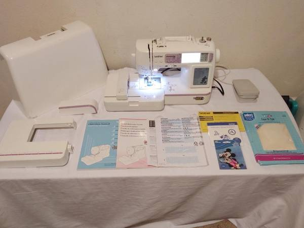 Photo Brother Innovis NV950D Embroidery  Sewing Machine Disney Limited Ed - $375 (NormandyChaffee)