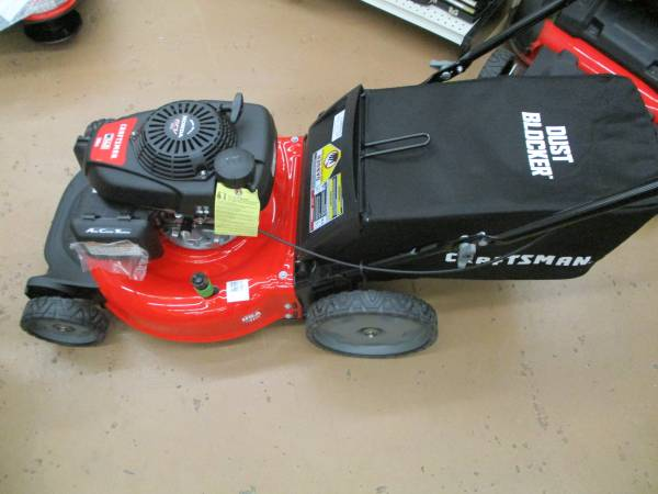 Photo CRAFTSMAN M140 160-cc 21-in Gas Push Lawn Mower with Honda Engine - $199 (west jacksonville)