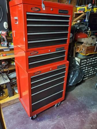 Photo Craftsman tool chest setup - $400