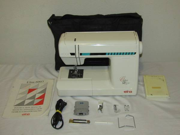 Photo Elna 6003 Quilter39s Dream Sewing Machine with Case - $120 (Jacksonville)