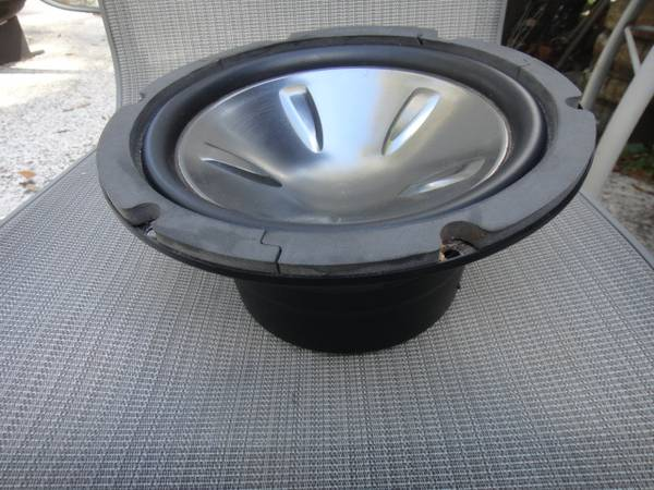 Photo Excellent 10 Inch Subwoofer - $75 (Fleming Island)