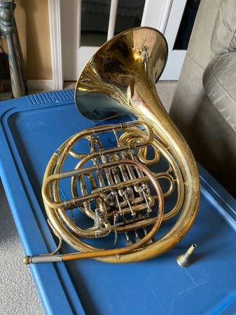 Photo F Schmidt Double French Horn - $475 (Orange Park)