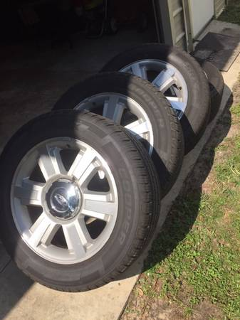 Photo Ford F150 20quot Wheels  Tires - $700 (Westside)
