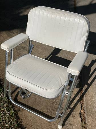 Photo Garelick Fishing Fighting Deck Chair - $100 (Jax bch)