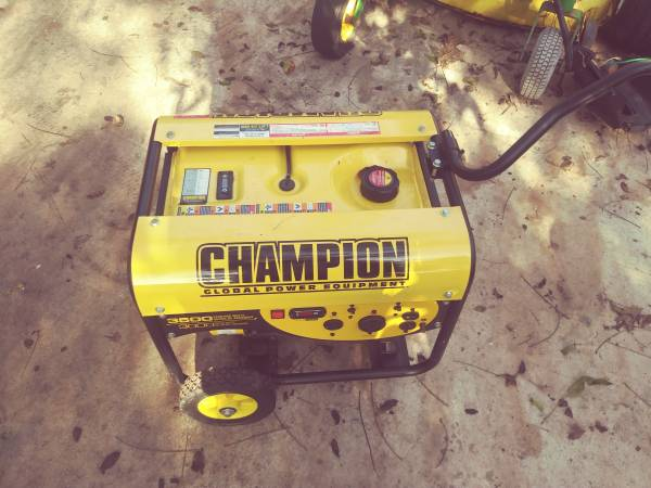 Photo Generator Chion 3500 whatt - $300 (Southside)